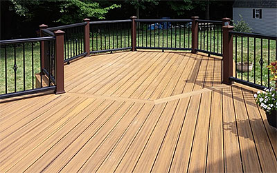 Custom Deck Installation Services Fence Connection